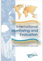 International Monitoring and Evaluation